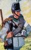 Österreich Pioniere 1864 - Pionier eines Pionier-Bataillons